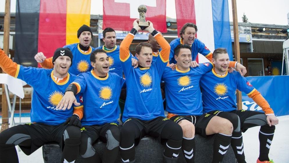 Holland ist Schneefussball-Weltmeister!