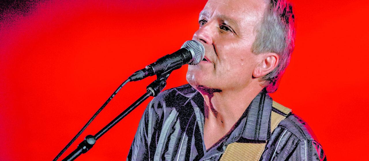Richard Koechli und seine Slide-Gitarre