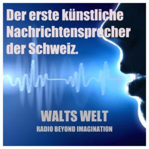 Hans, die erste künstliche Radiostimme der Schweiz